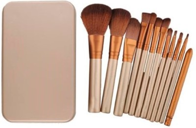 Puna Store 12 Piece Make up Brush Set with Storage Box