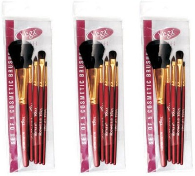 Vega Set Of Five Make-up Brushes