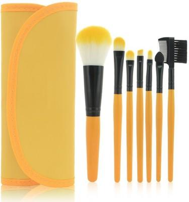 Rose Makeup Brush Kit