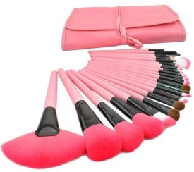 Foolzy Set of 24 Professional Makeup Brushes Kit(Pack of 24)