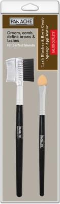 PANACHE Lash Brush & Brow Comb Sponge Applicator