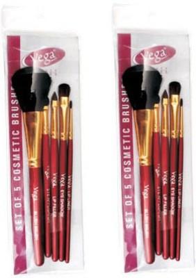 Vega Set Of Five Make-up Brushes-RV05