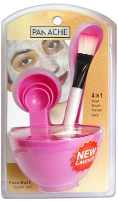 Panache Face Mask Bowl Set - Pink(Pack of 4)