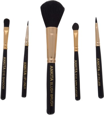 ANKITA Ankita Set Of 5 Cosmetic Brushes