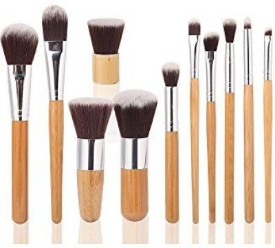 GYBest Makeup Brush Set Cosmetic Bamboo Handles with Bag