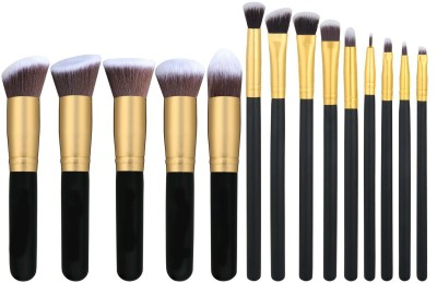 Shrih Foundations Concealers Eye Shadows 14 Pcs Makeup Brush Set
