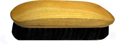 Styler Wooden Natural Bristles Brush(00 ml, Black)