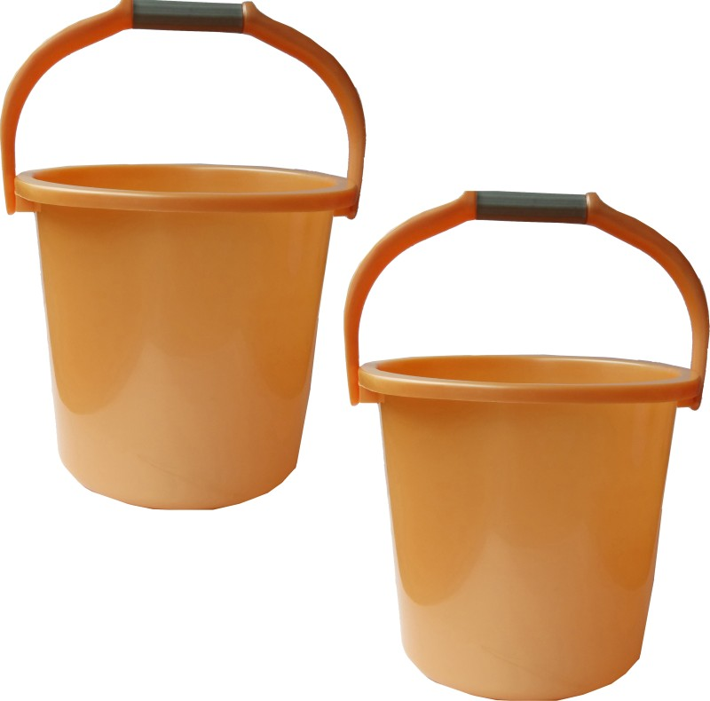 Milton New 25 L Plastic Bucket(Orange)