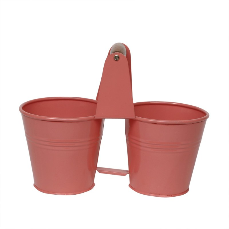 Elan 1 L Steel Bucket(Pink)