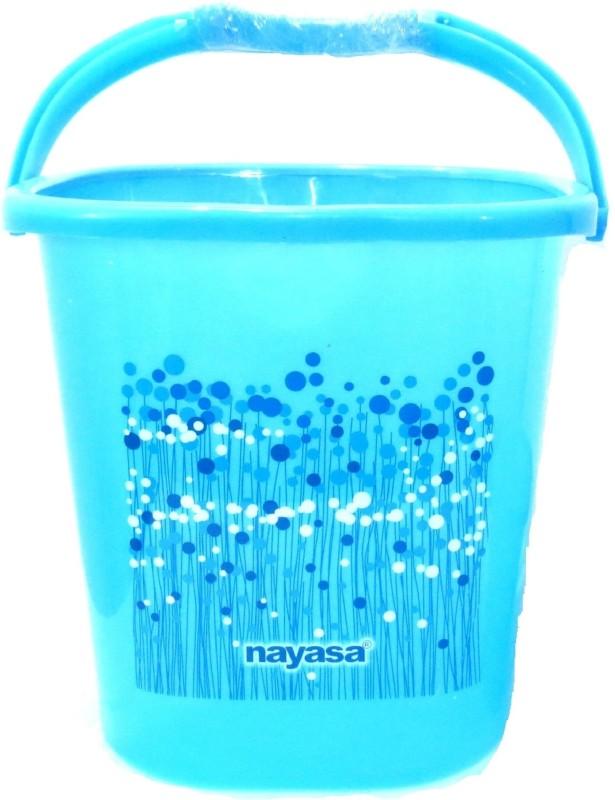 Nayasa Classic 18 L Plastic Bucket(Blue)