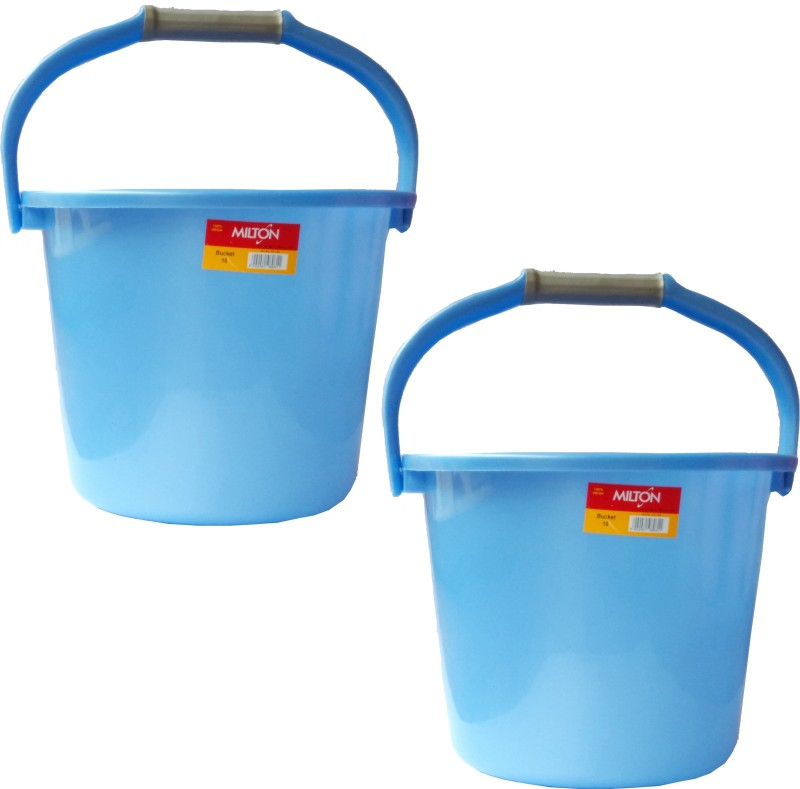 Milton New 18 L Plastic Bucket(Blue)