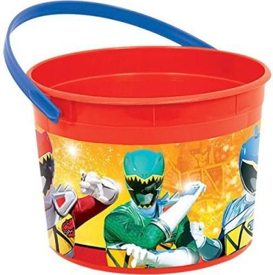 Amscan 10 L Plastic Bucket(Red, Yellow)