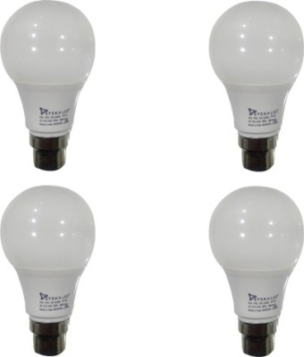 Syska-PAG-5W-B22-500L-LED-Bulb-(White,-Pack-of-4)
