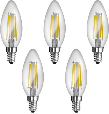 Imperial JP02 4W E14 LED Filament Bulb (White, Pack Of 5)