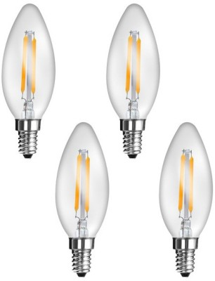 Imperial-16165-2W-E27-LED-Filament-Bulb-(Yellow,-Pack-Of-4)