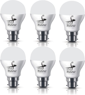 Urja 7 W LED Bulb (White, Pack of 6)