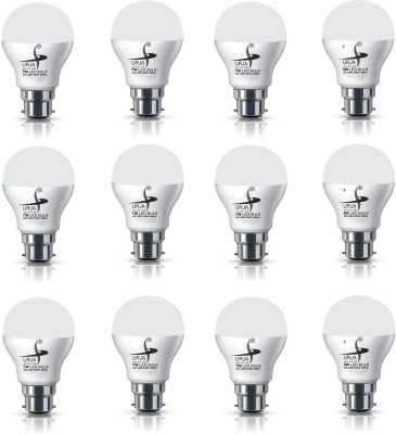 Urja 7W B22 650L LED Bulb (White, Pack Of 12)