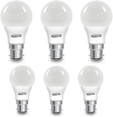 Ostriva 5 W LED Bulb (Warm White, Pack of 6)