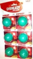 Eveready 0.5 W B22 LED Bulb(Green, Pack of 6)