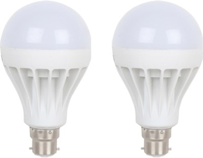 Flolite 15W LED Bulbs (White, Pack of 2)