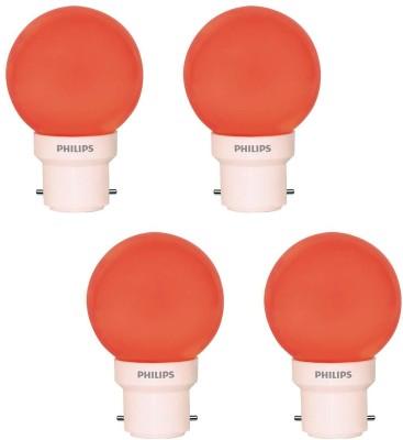 Philips 0.5 W LED Set Of 4 Decomini Bulb
