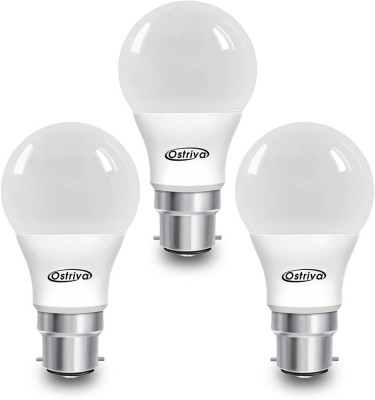 Ostriva 5 W LED Bulb (Warm White, Pack of 3)