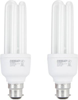 Eveready 20 W CFL Combo with Free 2 AA Alkaline Batteries Bulb