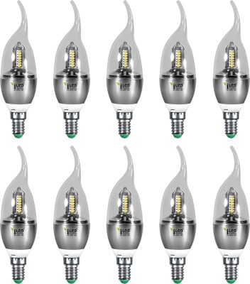Imperial 3687 3W E14 LED Bulb (White, Pack Of 10)