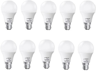 Jasco 9W B22 LED Bulb (White, Pack of 10)