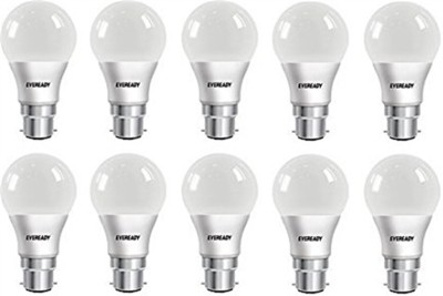 Eveready 5W B22 LED Bulb (Pack Of 10, White)