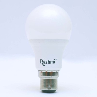 Rashmi 3W B22 270L LED Bulb (White, Pack Of 5)