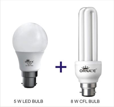 Ornate B22 LED 5 W, 8 W Bulb