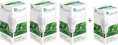Syska-12W-LED-Bulb-(Pack-of-3)-With-Free-7W-LED-Bulb