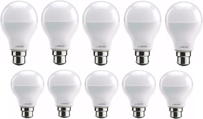 Lumeno 9W ,7W B22 LED Bulb (White, Pack Of 10)