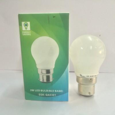 Syska Led Lights 3 W B22 LED Bulb(Pack of 3)