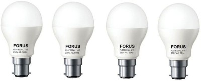 FORUS 7W B22 560L LED Bulb (Cool Daylight, Pack Of 4)
