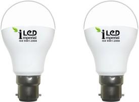 Imperial 9W B22 3629 LED Premium Bulb (Warm White, Pack of 2)