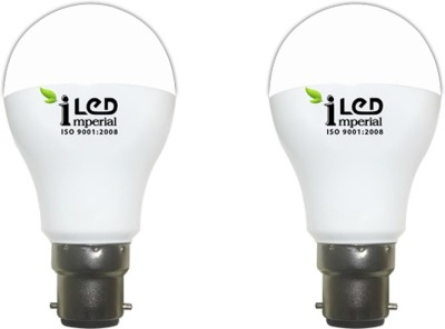 Imperial 9W B22 3629 LED Premium Bulb (Warm White, Pack of 2)