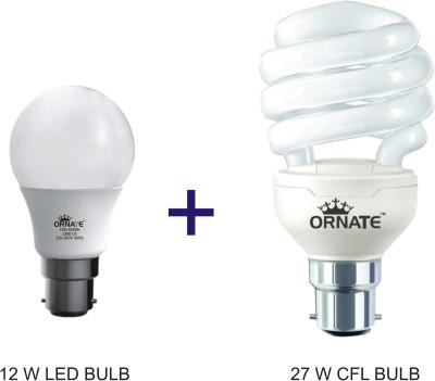 Ornate B22 CFL 12 W, 27 W Bulb