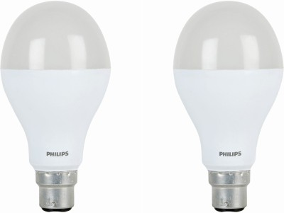Philips 14W B22 1400L LED Bulb (White, Pack of 2)