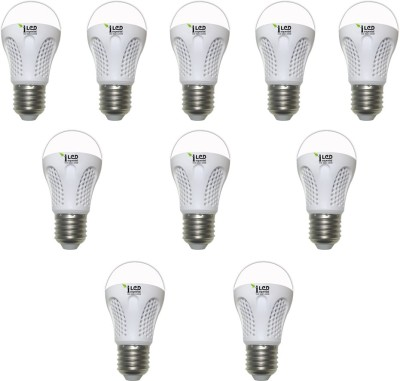 Imperial 4W-WW-E27-3525-10 Premium LED Bulb (Yellow, Pack Of 10)
