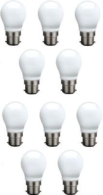 Syska Led Lights 3 W B22 LED Bulb(White, Pack of 10)