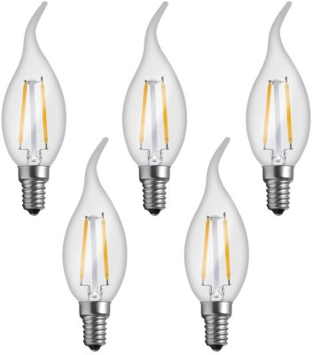 Imperial 16161 2W E14 LED Bulb (Yellow, Pack Of 5)