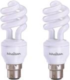 Khaitan 11 W Spiral B22 CFL Bulb (White,...