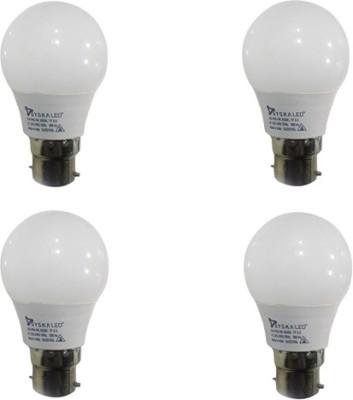 Syska Led Lights 3 W B22 LED Bulb(White, Pack of 4)