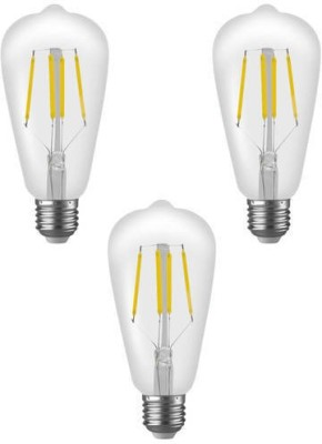Imperial ST01 4W E27 LED Filament Bulb (White, Pack Of 3)