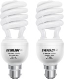 Eveready 27 W CFL Bulb (White, Pack of 2...