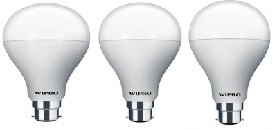 Wipro Garnet 12W B22 LED Bulb (Warm White, Pack Of 3)