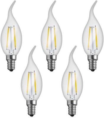 Imperial 16160 2W E14 LED Filament Bulb (White, Pack Of 5)