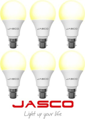 Jasco 5W B22 LED Bulb (Warm White, Pack Of 6)